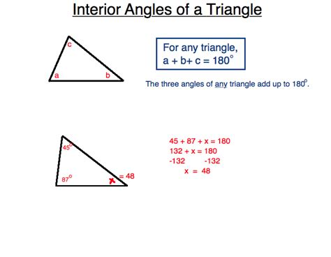 Finding Interior Angles by Kensmathworld