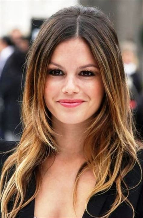 center part hairstes for short hair 2013 center part hairstyles behairstyles com