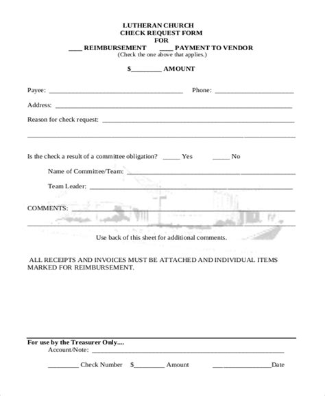 Attractive Background Check Forms For Churches #2: LUTHERAN-CHURCH-CHECK-REQUEST-FORM.jpg