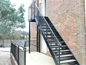 stahlbau treppen steel stairs with a powder coated finish chequer plate