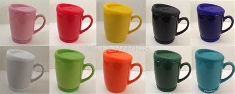10oz coffee mug with silicone lid and bottom   China   Manufacturer