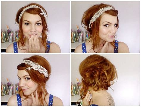 easy hairstyles for waitress s 13 fast diy hairstyle tutorials for everyday useall for