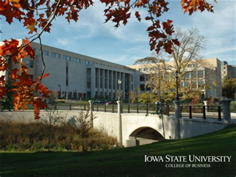 Iowa State Mba Application by Isu College Of Business Graduate Program Among Least