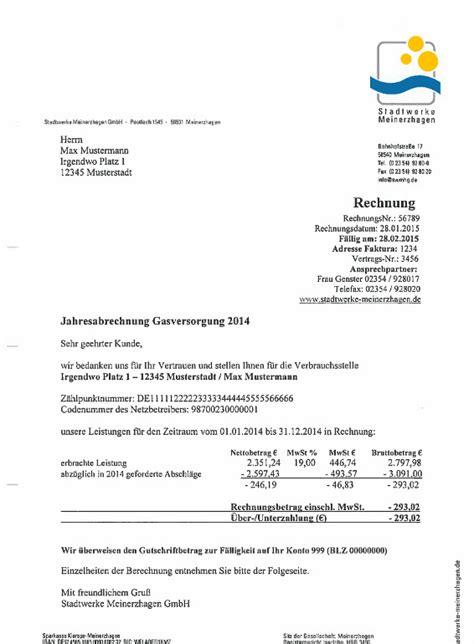 Musterrechnungen Schweiz musterrechnung