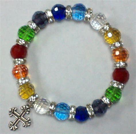prayer bracelet clay and jewelry