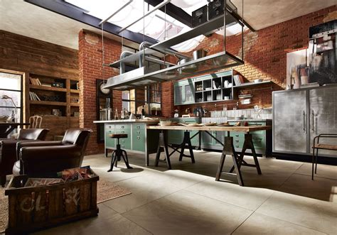 Center Islands For Kitchens marchi group vintage kitchen loft inspired by today s