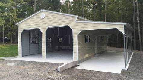 Buy Car Port by 24x31 Vertical Roof Garage