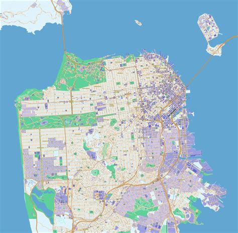 san francisco map free scalablemaps vector maps of san francisco pdf ai