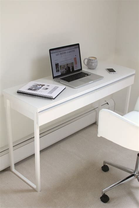 Besta Burs White Desk ikea still les petits gazette