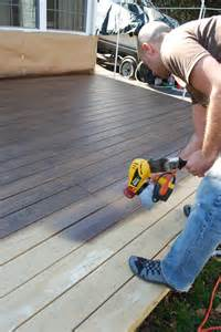 Patio Paint Colours Diy Staining A Deck Effortless Style Blog