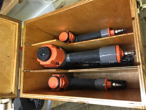 pneumatic nail gun storage box  jetdriver