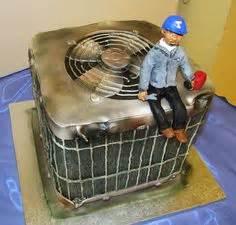 mitsubishi air conditioner cake  fondant elvis topper entertaining   cake