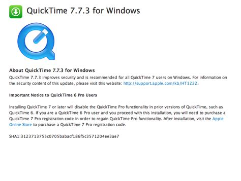 quicktime full version free download quicktime version 7 1 for photoshop cs3 download