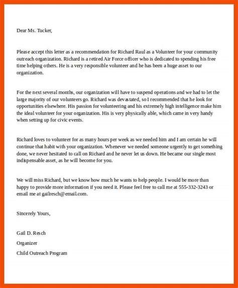 Proof Of Volunteer Letter 11 12 opt volunteer verification letter sle formatmemo