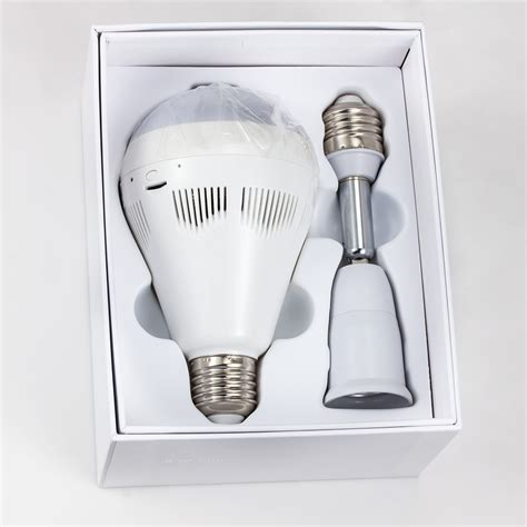 Bohlam Wireless Ip bulb cahaya wireless ip kamera wifi home security 1 3mp 960 p p2p audio surveillance kamera cctv