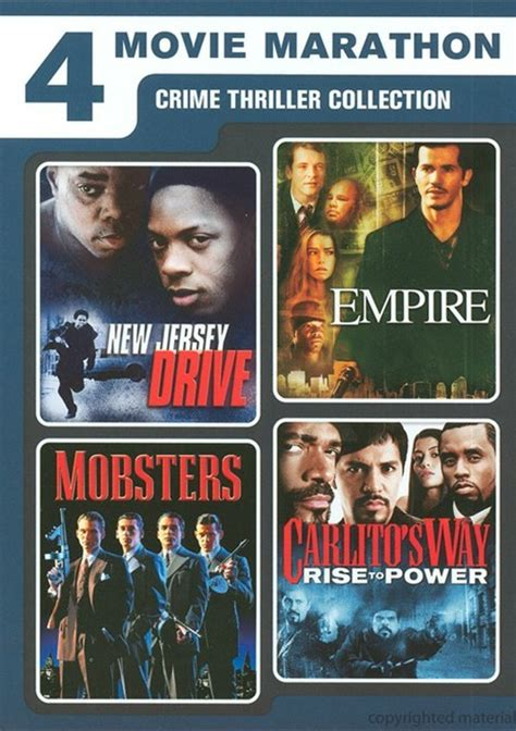 film thriller crime terbaik 4 movie marathon crime thriller collection dvd dvd empire