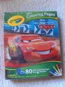 crayola mini coloring pages cars crayola mini coloring pages disney cars race o rama by crayola