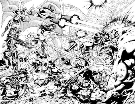 black and white marvel wallpaper marvel deadpool hulk battle punisher wallpaper 3591x2777