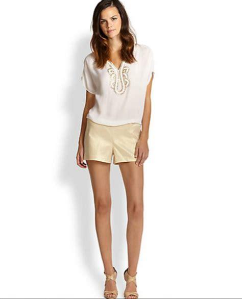 liza pulitzer lilly pulitzer metallic liza shorts