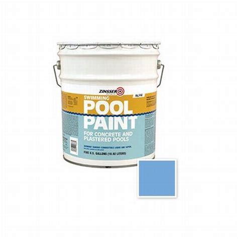 rust oleum 260542 5 gal zinsser swimming pool paint blue ebay
