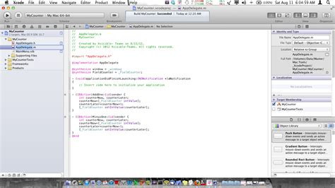 design form xcode build and create simple mac app counter using xcode 4 3 3