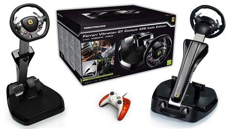 volanti compatibili xbox 360 thrustmaster d 233 voile le vibration gt 458 italia
