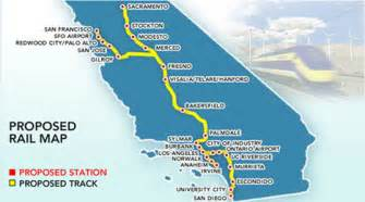high speed rail map high speed trains finally coming to california and not a