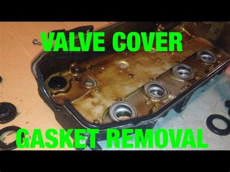 valve cover gasket replacement honda civic  series youtube