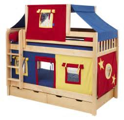 bunk bed plans for kids kids furniture ideas toddler bunk beds fun fort bunk