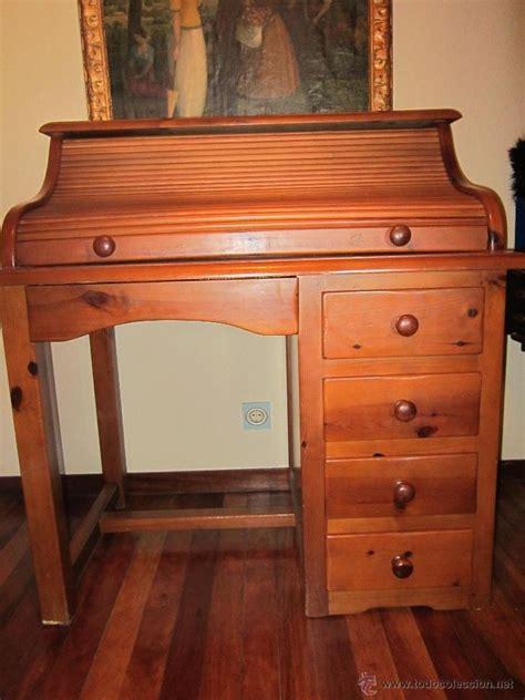 segunda mano escritorio escritorio de pino con silla dos estanterias y comprar