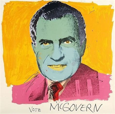 warhol prints andy warhol vote mcgovern 84 by andy warhol print for