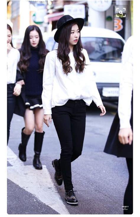 Fedorafashion Blouse No 08 blouse seulgi velvet streetstyle boots k