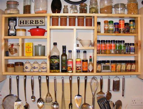 Vintage Wood Spice Rack Kitchen Impressive Hanging Wall Spice Rack For Kitchen