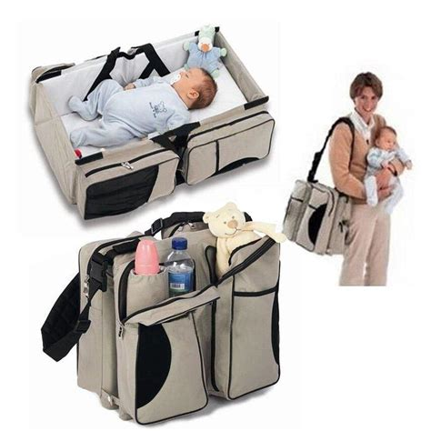 newborn babies portable travel bag type crib bed mummy bag