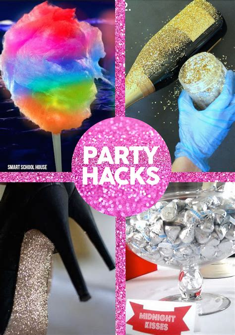 idea hacks new years eve party hacks