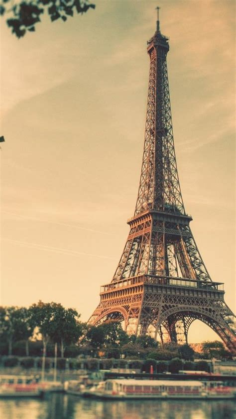 wallpaper android paris eiffel tower paris sunrise tilt shift android wallpaper