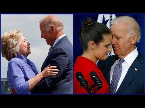 jeff sessions granddaughter joe biden joe biden tries to touch jeff sessions granddaughter