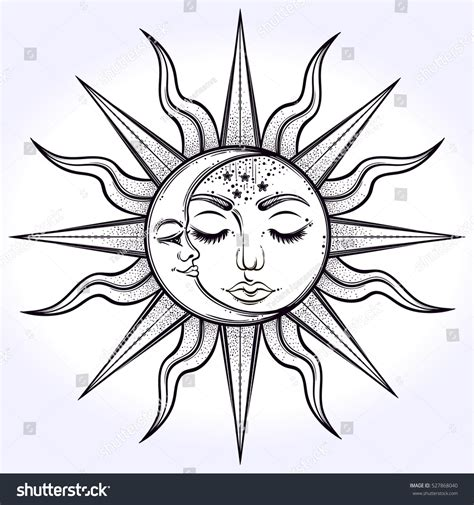 sun and moon design www pixshark com images galleries