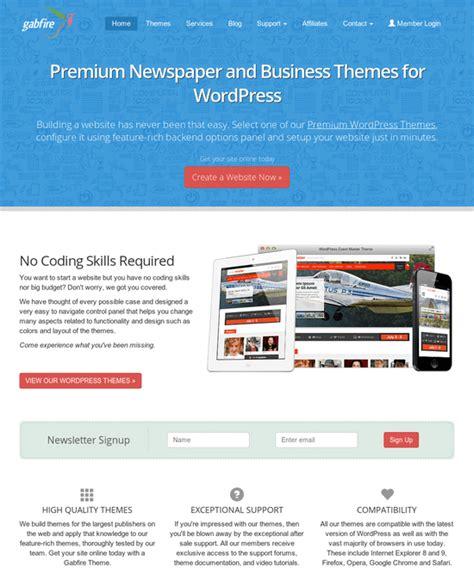 newspaper theme purchase code gabfire review wordpress themes good or bad