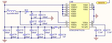 pcb layout engineer job description stm32 vbat circuit explanation electrical engineering