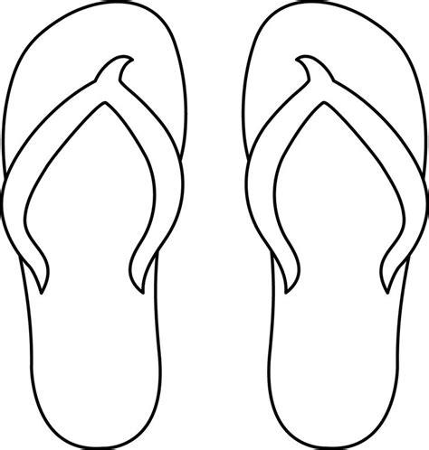 template of flip flops 14 best flip flops images on sandals clip and flip flops