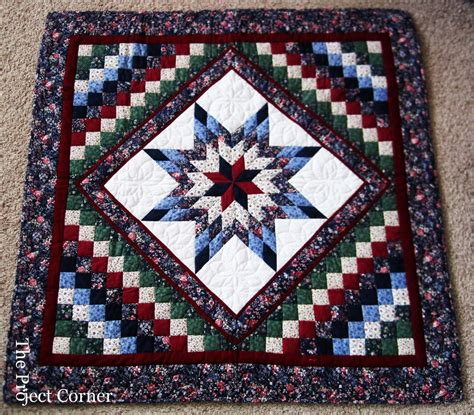 Quilt Handmade - the project corner amish quilt