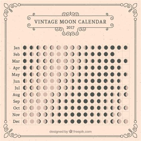 Moon Calendar June 2017 2017 Moon Calendar Space