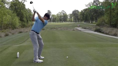 slow motion golf swing down the line jordan spieth slow motion down the line swing youtube