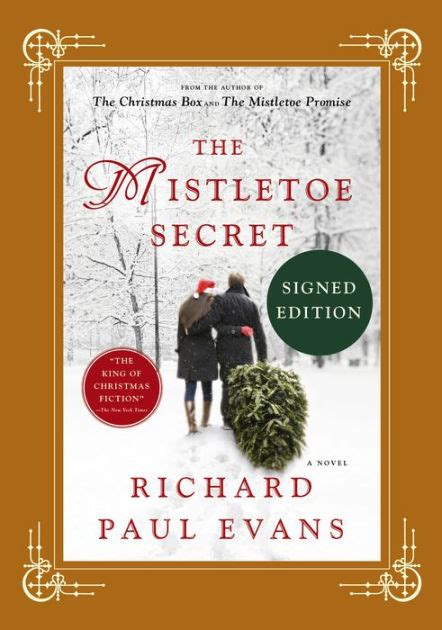 libro the mistletoe murder and the mistletoe secret signed book by richard paul evans