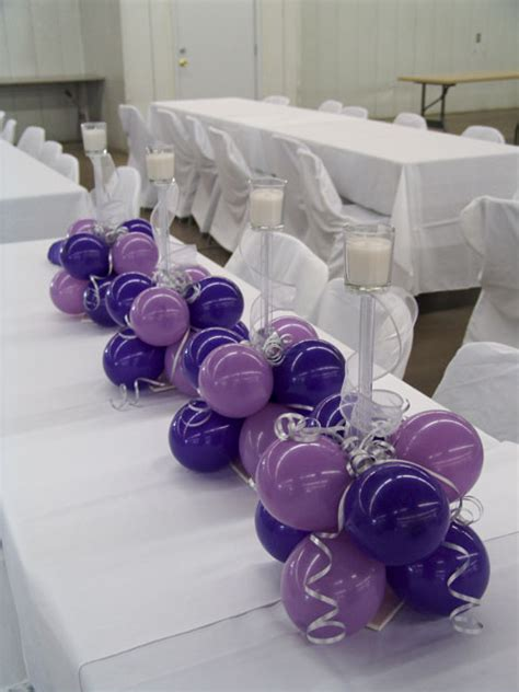balloon centerpieces balloon decoration ideas table decorations other wedding reception table decoration