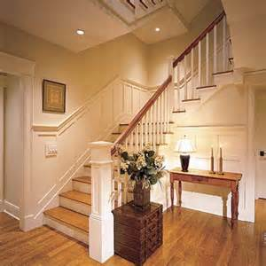 Stairway Wainscoting Flat Panel Wainscoting Designs Layouts And Materials