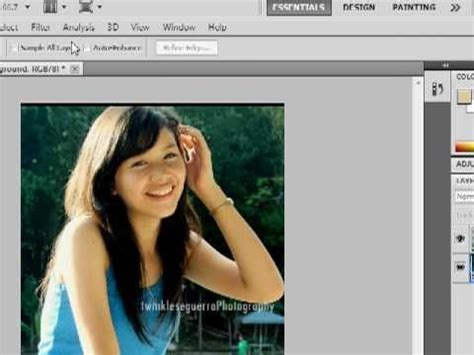 tutorial smudge photoshop cs5 adobe photoshop blur the background and focus on image