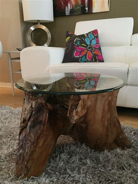 reclaimed tree trunk tables for the eco friendly home best 20 tree stump side table ideas on tree trunk table tree stump table and tree