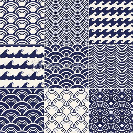 japanese pattern wind japanese seamless ocean wave pattern baby boy nursery